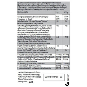 GU Energy Gel Kombipaket Salted Caramel Vorratsbeutel 480g + 3x32g Gels + Flask